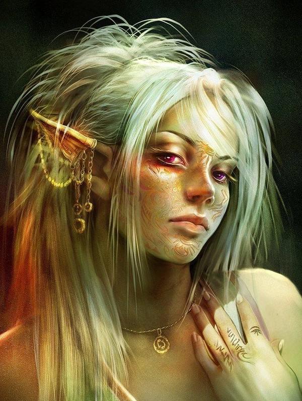 Elfes (Visages)